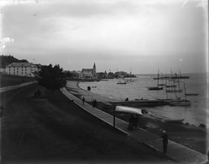 Historic photo from harbor