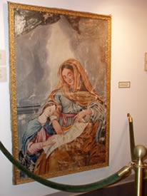 Painting of Ste. Anne